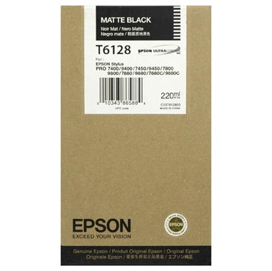 Mực in Epson T612800 Black Ink Cartridge