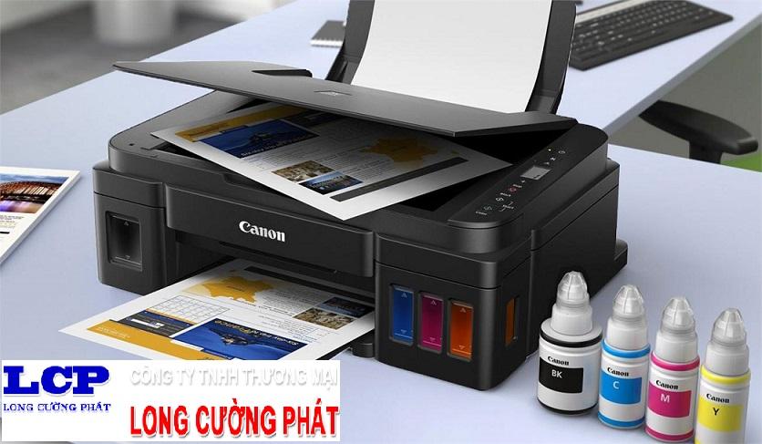 Máy in đa năng Canon Pixma G2010 in phun màu tiếp mực ngoài chính hãng