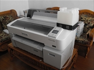 Máy in Epson SureColor T3280 in khổ A1, gắn mực in chuyển nhiệt